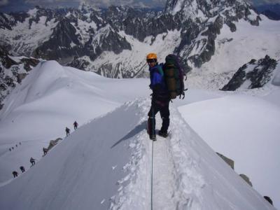 Viaje a Alpes - Mont Blanc de Tacul