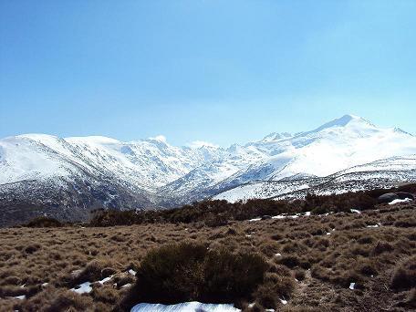 Ascension de cabeza nevada - Invierno 2010