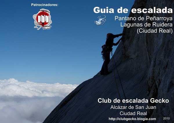 Guía de escalada en el Pantano de Peñarroya y Lagunas de Ruidera