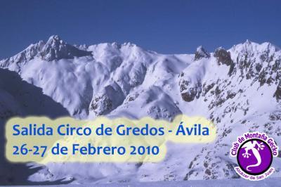 Salida al Circo de Gredos - Avila