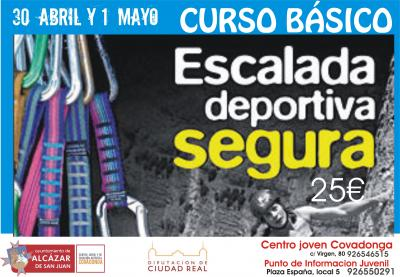 Curso de escalada - Club Gecko - Centro Juvenil Covadonga