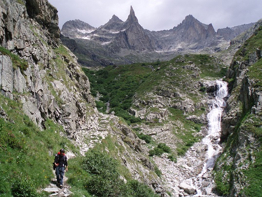 Aguja Dibona (Els Ecrins)
