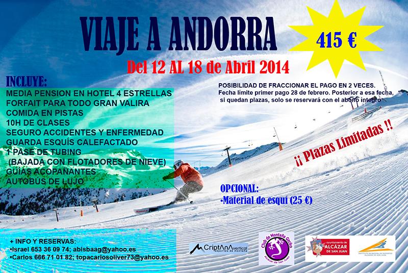 Viaje de Esquí - Andorra