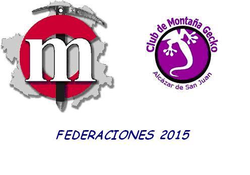 FEDERACIONES 2015